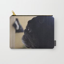reflective pug Carry-All Pouch