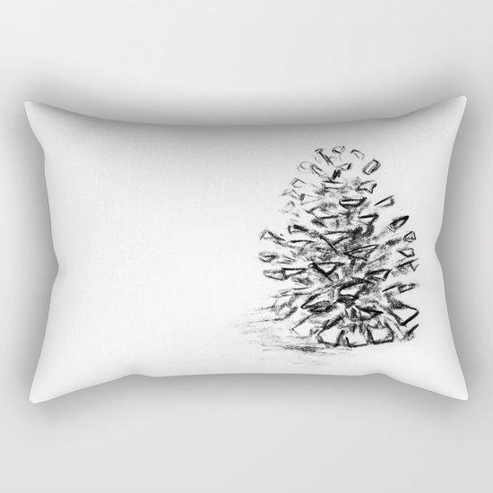 Pine Cone Rectangular Pillow