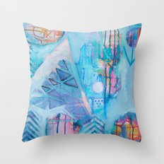 Sacred Symbols - Bend of Ivy Throw Pillow