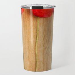 3 poppies Travel Mug