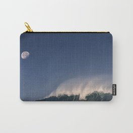 Moon Over Waimea Bay. Carry-All Pouch