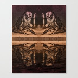 Wise Owls Canvas Print