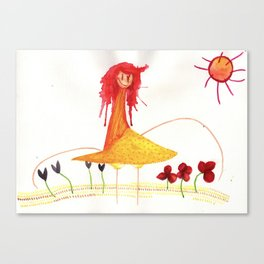 Project kindergarden Canvas Print