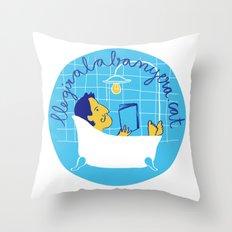 llegiralabanyera.cat Throw Pillow