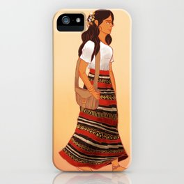 Maldivian Girl iPhone Case