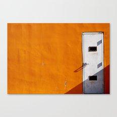 Orange Wall Canvas Print