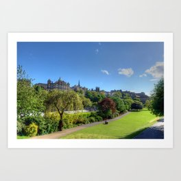 Edinburgh, Scotland Art Print