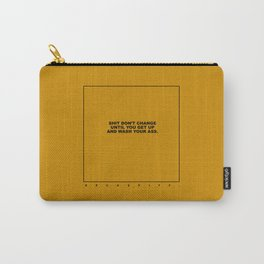 kenny (old mustard) Carry-All Pouch