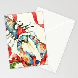 lobsta holiday Stationery Cards