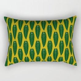 Houseplant Queen Anthurium Warocqueanum Design Rectangular Pillow