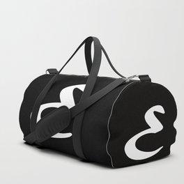 Alphabet ....E Duffle Bag