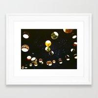 lantern Framed Art Prints featuring Lantern by CHENG ZHI CHIAN