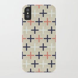 Midcentury Pattern 04 iPhone Case