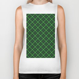 Green Scottish Fabric High Res Biker Tank