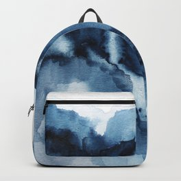 Abstract Indigo Mountains Backpack