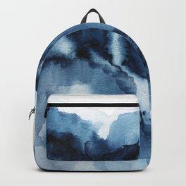 Abstract Indigo Mountains Backpack