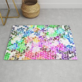 Colored Pattern, Colorful Life Rug