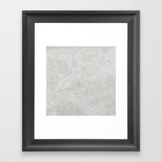 Travertine Framed Art Print
