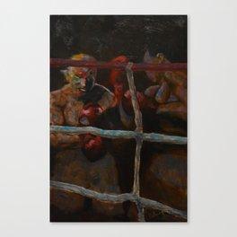 Uppercut Canvas Print