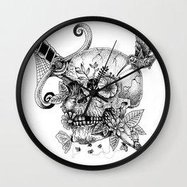 Pax Mortem Wall Clock