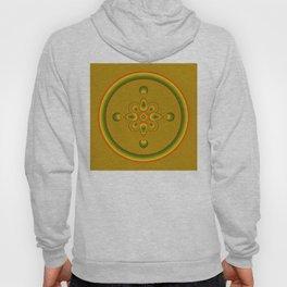 70s Circle Designs - Orange, Brown, Green Hoody