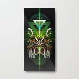 The Last Herald Metal Print