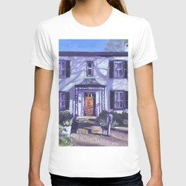 Alphen Hotel in Winter T-shirt