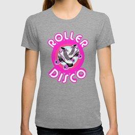 Roller Disco Derby Vintage & Distressed design 70s 80s T-shirt