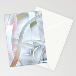 Paper colored pattern Stationery Cards