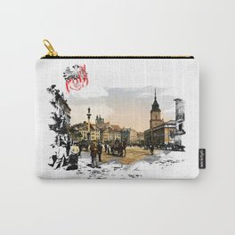 Poland, Warsaw 1890-1900 Carry-All Pouch