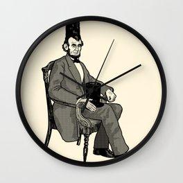 Hat Head Wall Clock