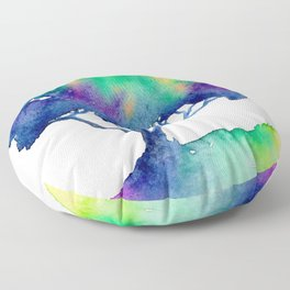 Hue Tree III Floor Pillow