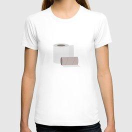 Toilet paper rolls T-shirt