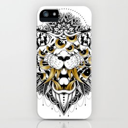 Gold Eyed Tiger iPhone Case