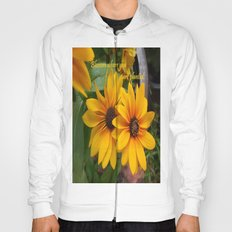 Blossom Where You Are Planted Hoody