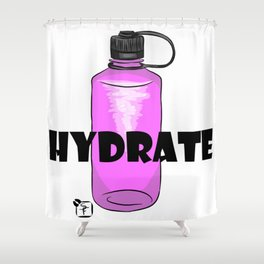 Hydrate Shower Curtain