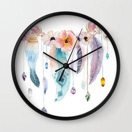 Atherstone Feather Spirit Gazer Wall Clock