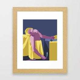 Death of a Marat Pop Art Framed Art Print
