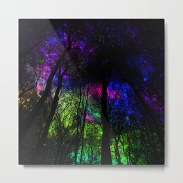 Blissful forest ii Metal Print