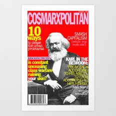 COSMARXPOLITAN, Issue 1 Art Print