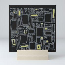 Screw You Ruler Said Rectangle Mini Art Print