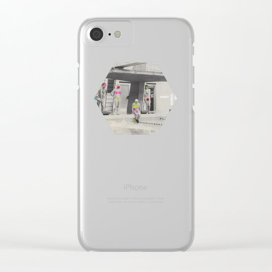 Modesty Clear iPhone Case