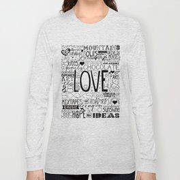 50 Reasons To Be Happy Long Sleeve T-shirt