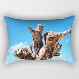 Trunk Tree Rectangular Pillow