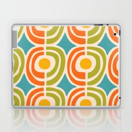 Mid Century Modern Solar Flares Pattern 2 Laptop & iPad Skin