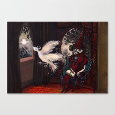 The Sorcerer and the Simourgh  Canvas Print