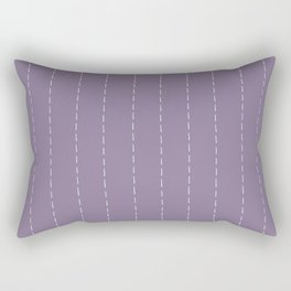 Dash stitch Rectangular Pillow