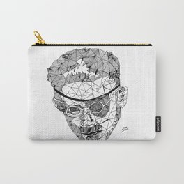 James Joyce - Hand-drawn Geometric Art Print Carry-All Pouch