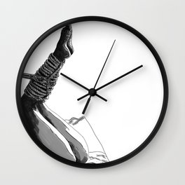 Shibari art Wall Clock