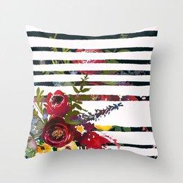 Flowers Bouquet 127 Throw Pillow